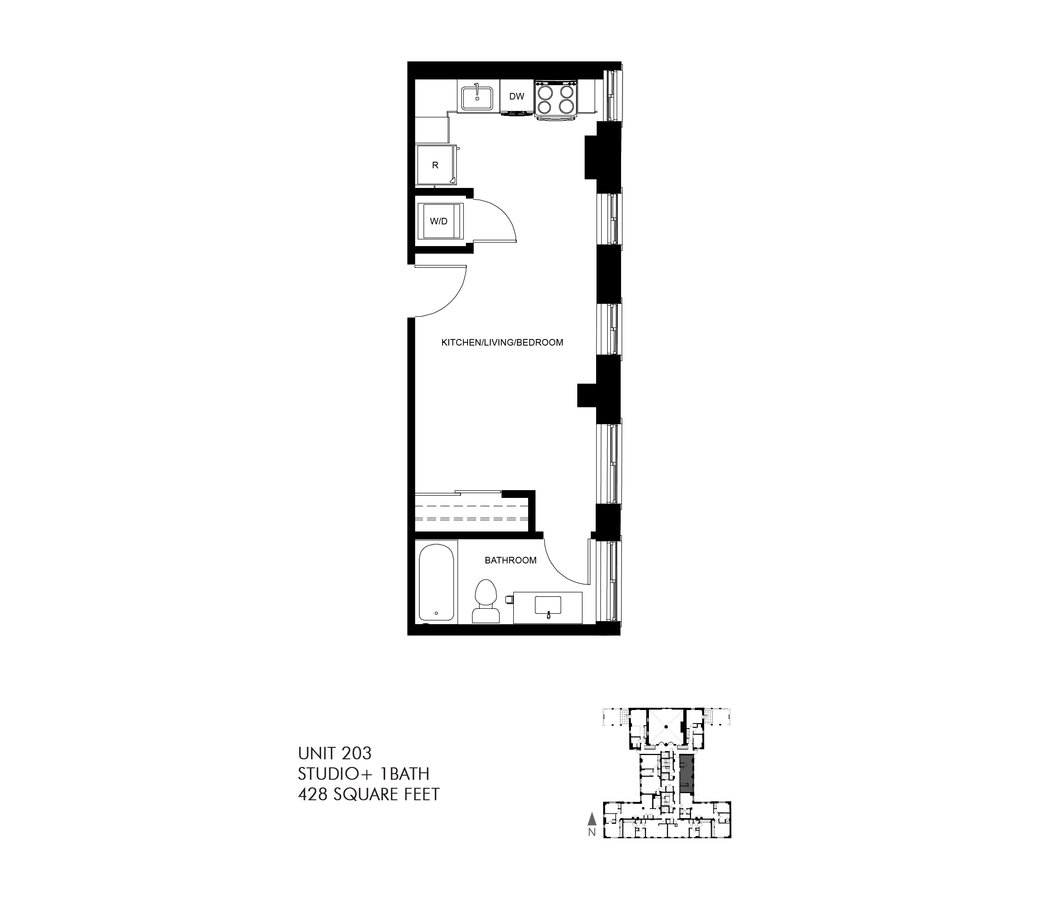 Studio 1 Bathroom Apartment for rent at Park Heights By The Lake Apartments in Chicago, IL