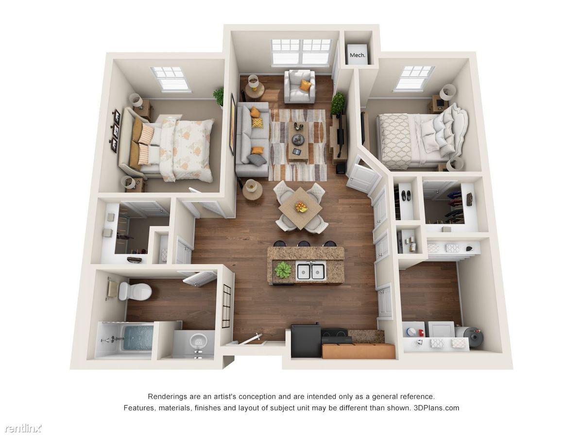 2 Bedrooms 1 Bathroom Apartment for rent at Riverside Senior Lofts in Dayton, OH