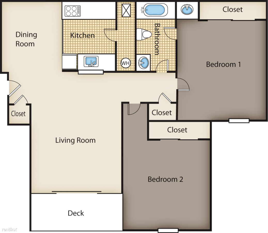 2 Bedrooms 1 Bathroom Apartment for rent at Mallard Glen Apartments in Amelia, OH