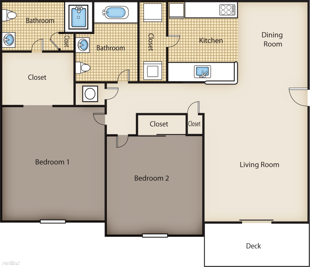 2 Bedrooms 2 Bathrooms Apartment for rent at Twin Cedars Apartments in Hickory, NC