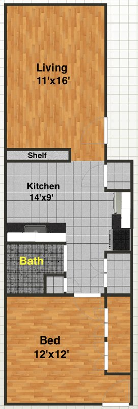 1 Bedroom 1 Bathroom Apartment for rent at 2053 Abbott Ave in Ann Arbor, MI