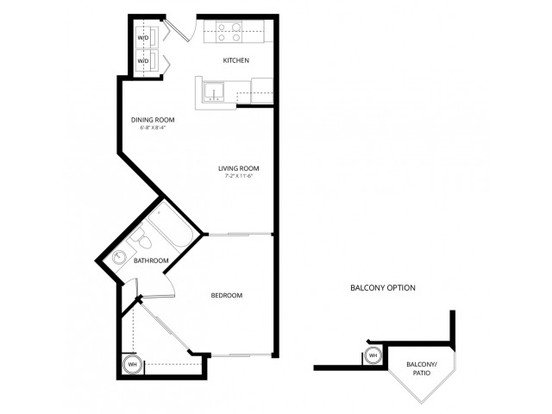 1 Bedroom 1 Bathroom Apartment for rent at Acclaim Apartment Homes in Phoenix, AZ