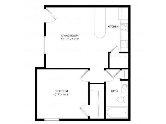 1 Bedroom 1 Bathroom Apartment for rent at Alegria Apartment Homes in Tucson, AZ