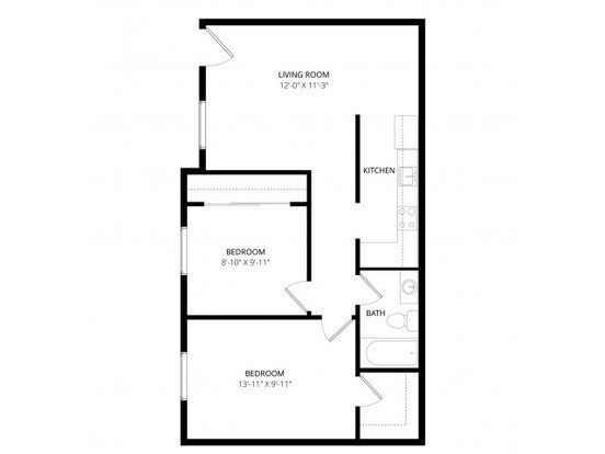 2 Bedrooms 1 Bathroom Apartment for rent at Alegria Apartment Homes in Tucson, AZ