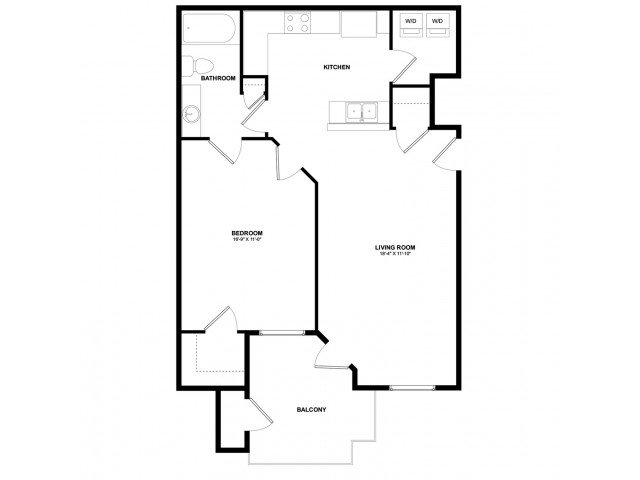 1 Bedroom 1 Bathroom Apartment for rent at Aspire Pinnacle Peak in Phoenix, AZ