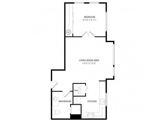 1 Bedroom 1 Bathroom Apartment for rent at Aventine Apartment Homes in Bellevue, WA