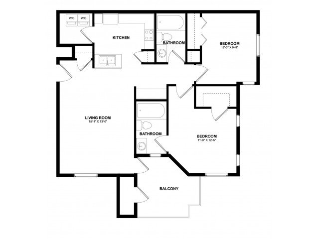 2 Bedrooms 2 Bathrooms Apartment for rent at Aspire Pinnacle Peak in Phoenix, AZ