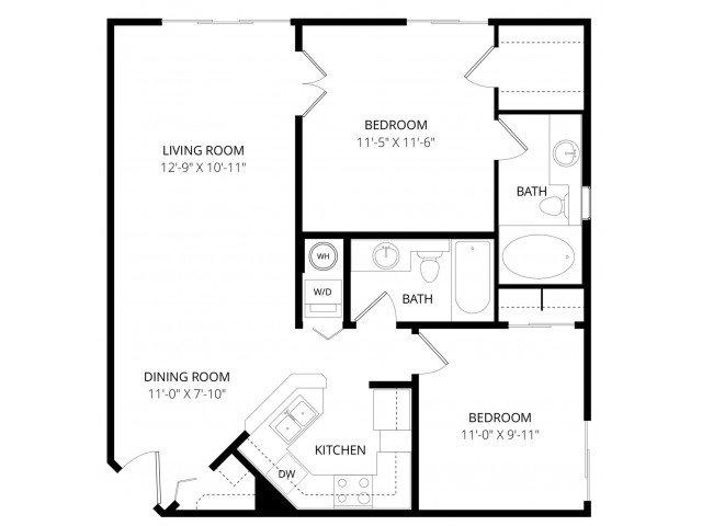 2 Bedrooms 2 Bathrooms Apartment for rent at Bolero Apartment Homes in Phoenix, AZ