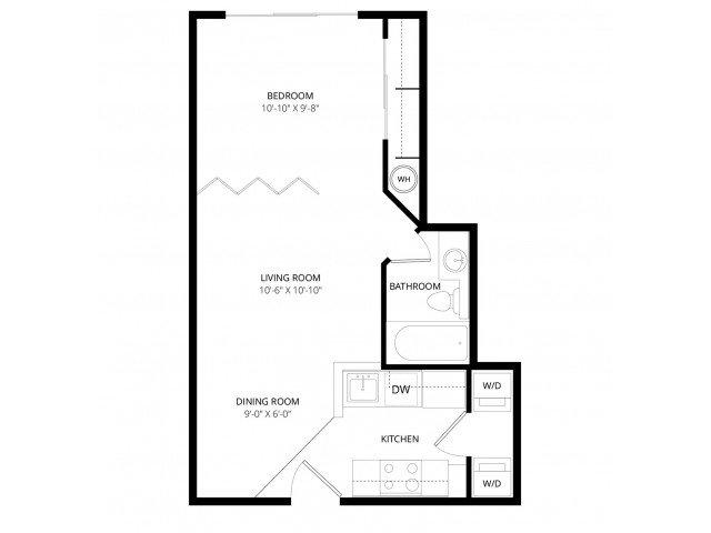 Studio 1 Bathroom Apartment for rent at Bolero Apartment Homes in Phoenix, AZ
