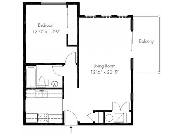 1 Bedroom 1 Bathroom Apartment for rent at Regency Woods Apartment Homes in Renton, WA