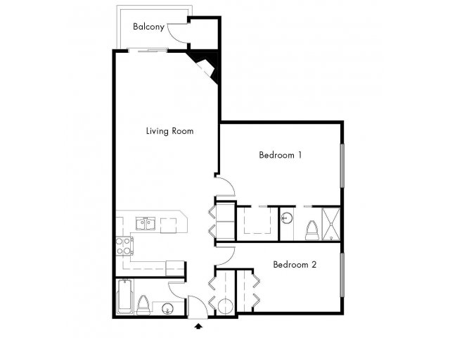 2 Bedrooms 2 Bathrooms Apartment for rent at Windsong Apartments in Issaquah, WA