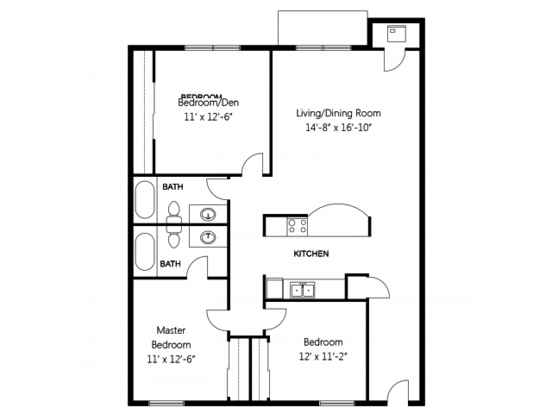 3 Bedrooms 2 Bathrooms Apartment for rent at Regency Woods Apartment Homes in Renton, WA