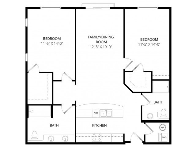 2 Bedrooms 2 Bathrooms Apartment for rent at The Artiste Apartment Homes in Shoreline, WA