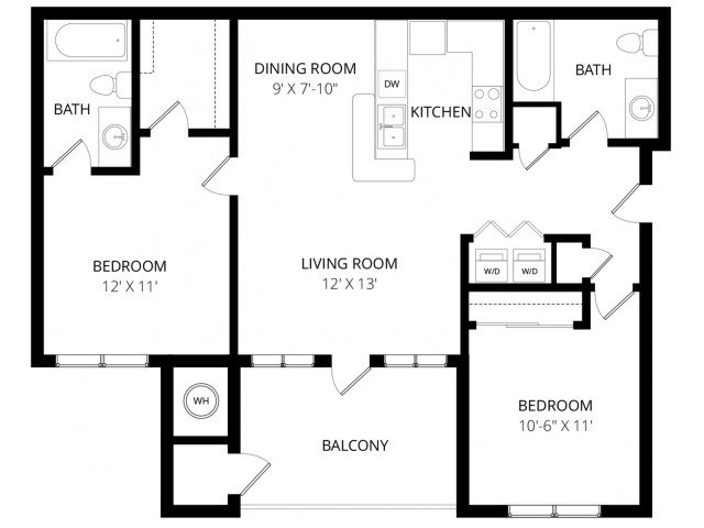 2 Bedrooms 2 Bathrooms Apartment for rent at Legends At River Oaks in Sandy, UT