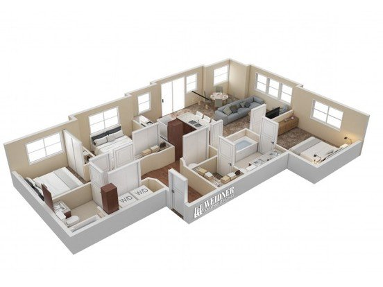 3 Bedrooms 2 Bathrooms Apartment for rent at Hills At Sandy Station in Sandy, UT
