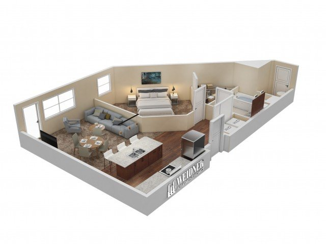 1 Bedroom 1 Bathroom Apartment for rent at Hills At Sandy Station in Sandy, UT