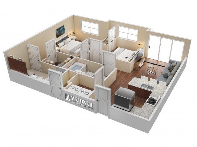 2 Bedrooms 2 Bathrooms Apartment for rent at Hills At Sandy Station in Sandy, UT