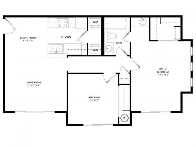 2 Bedrooms 1 Bathroom Apartment for rent at Acclaim Apartment Homes in Phoenix, AZ