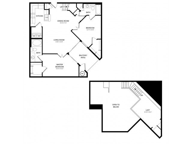 2 Bedrooms 2 Bathrooms Apartment for rent at Acclaim Apartment Homes in Phoenix, AZ