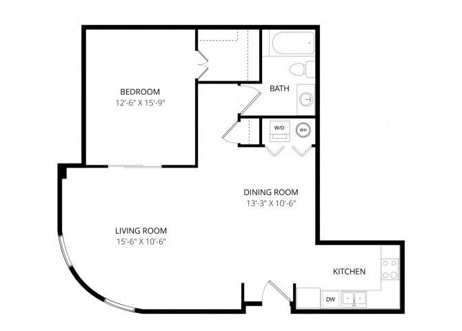 1 Bedroom 1 Bathroom Apartment for rent at Ondine At Juanita Bay in Kirkland, WA