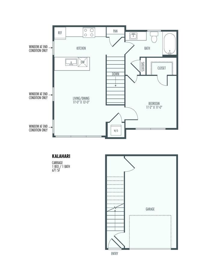 1 Bedroom 1 Bathroom Apartment for rent at The Flats At Santan in Gilbert, AZ