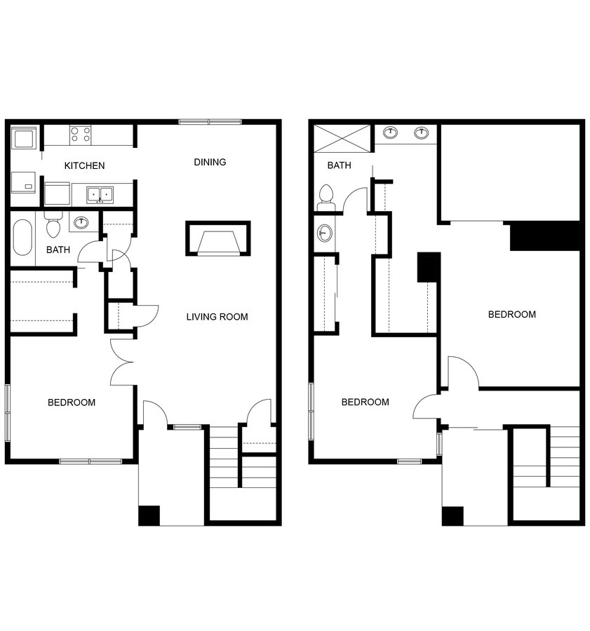 3 Bedrooms 2 Bathrooms Apartment for rent at Trailside At Hermosa Pointe in Phoenix, AZ