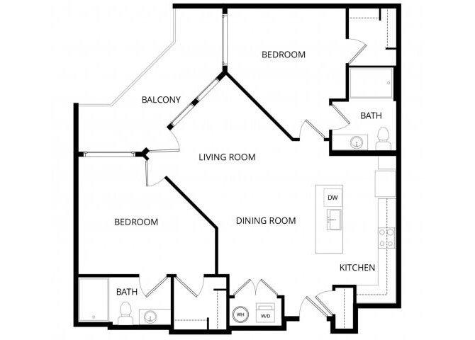 2 Bedrooms 2 Bathrooms Apartment for rent at Roosevelt Row in Phoenix, AZ