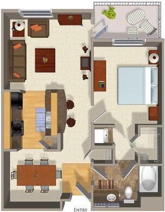 1 Bedroom 1 Bathroom Apartment for rent at Talavera Apartments in Denver, CO