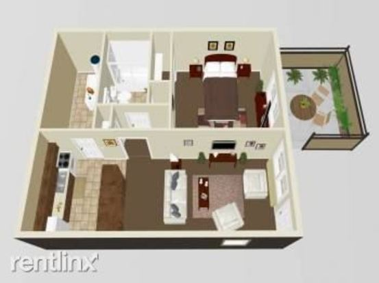 1 Bedroom 1 Bathroom Apartment for rent at Cherry Glen Apartments in Indianapolis, IN