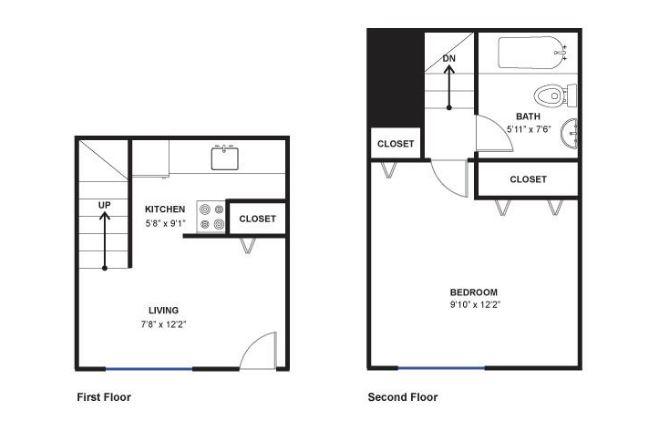 1 Bedroom 1 Bathroom Apartment for rent at 520 N Ashley St in Ann Arbor, MI