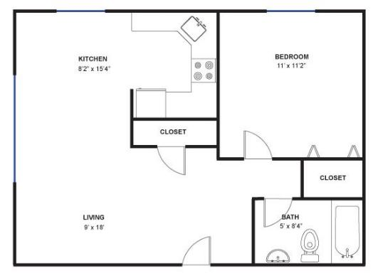 1 Bedroom 1 Bathroom Apartment for rent at 512 N Ashley St in Ann Arbor, MI