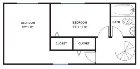 2 Bedrooms 1 Bathroom Apartment for rent at Fritz Lofts in Ann Arbor, MI