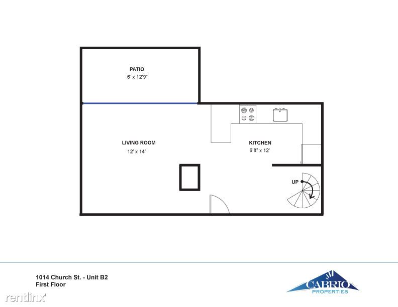 1 Bedroom 1 Bathroom Apartment for rent at Fritz Lofts in Ann Arbor, MI