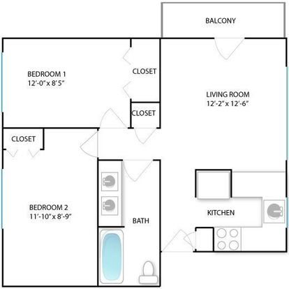 2 Bedrooms 1 Bathroom Apartment for rent at 817 Arch St in Ann Arbor, MI