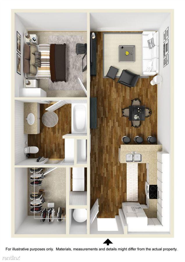 1 Bedroom 1 Bathroom Apartment for rent at Iron City Lofts in Birmingham, AL