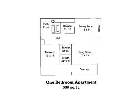 1 Bedroom 1 Bathroom Apartment for rent at Riverland Woods Apartments in Sterling Hts, MI