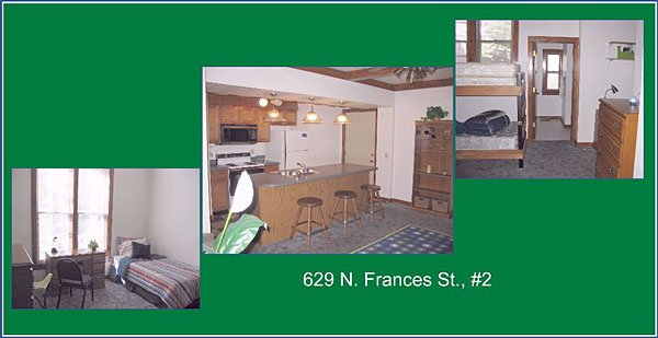 2 Bedrooms 1 Bathroom House for rent at 629 N Frances St in Madison, WI