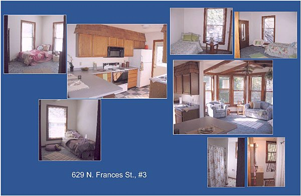 4 Bedrooms 2 Bathrooms House for rent at 629 N Frances St in Madison, WI