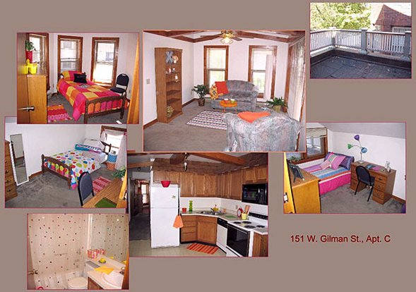 3 Bedrooms 1 Bathroom House for rent at 151 W Gilman St in Madison, WI