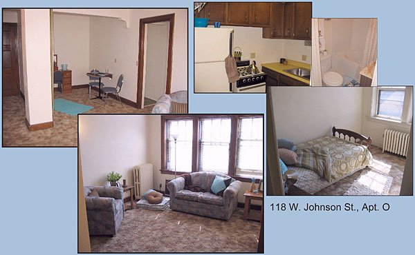1 Bedroom 1 Bathroom Apartment for rent at 118 W Johnson St in Madison, WI