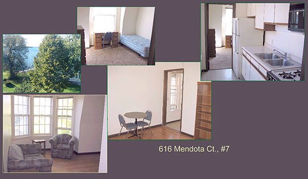 1 Bedroom 1 Bathroom Apartment for rent at 614/616 Mendota Ct in Madison, WI