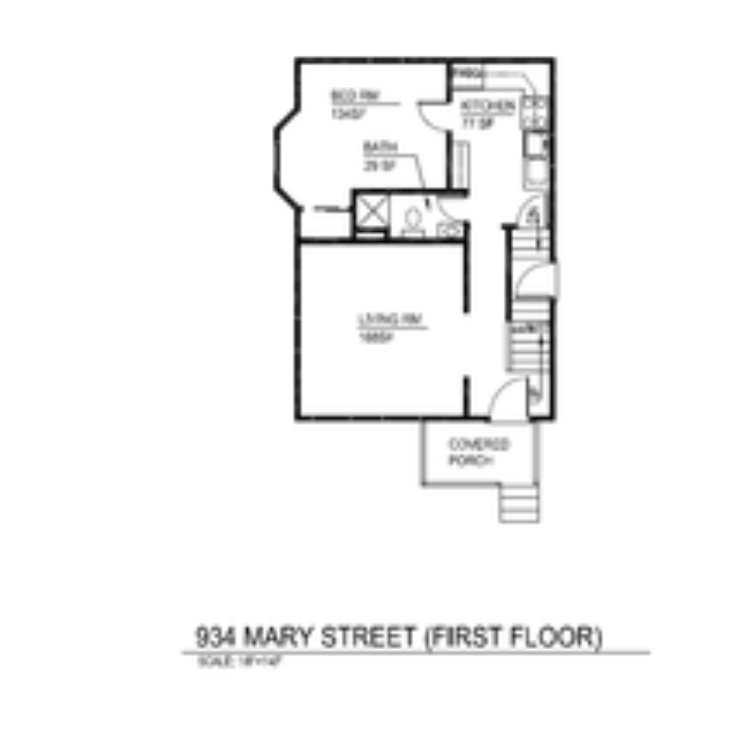 5 Bedrooms 2 Bathrooms House for rent at 934 Mary St in Ann Arbor, MI