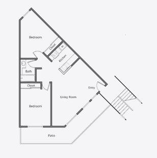 2 Bedrooms 1 Bathroom Apartment for rent at Orchard Glen Apartments in Santa Clara, CA