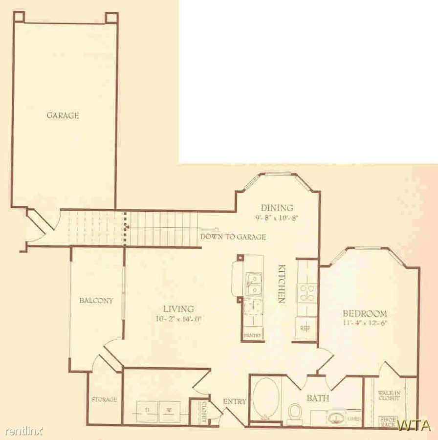 1 Bedroom 1 Bathroom Apartment for rent at 12430 Metric Blvd in Austin, TX