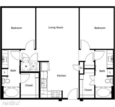 2 Bedrooms 2 Bathrooms Apartment for rent at 11711 Domain Dr in Austin, TX