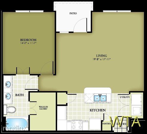 1 Bedroom 1 Bathroom Apartment for rent at 12601 Bee Cave Pkwy in Austin, TX