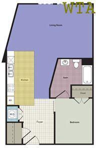 Studio 1 Bathroom Apartment for rent at 11400 Domain Dr Ste 115 in Austin, TX