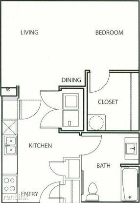 Studio 1 Bathroom Apartment for rent at 11011 Domain Dr Ste 8100 in Austin, TX