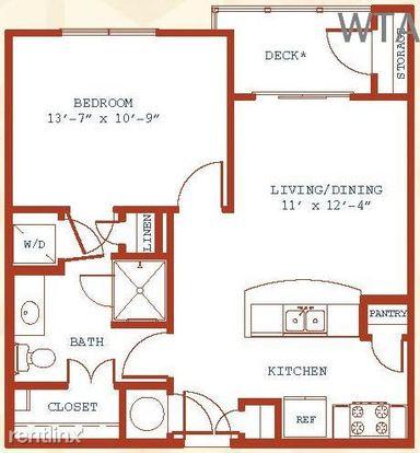 1 Bedroom 1 Bathroom Apartment for rent at 10011 Stonelake Blvd in Austin, TX