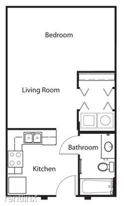 Studio 1 Bathroom Apartment for rent at Domain And Esperanza Crossing in Austin, TX